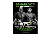 UFC 134 Poster - Silva vs. Okami