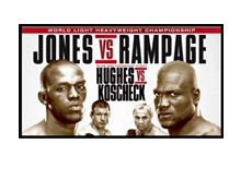 UFC 135 Poster - small - Jon Jones vs. Quinton Jackson