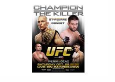 UFC 137 Poster - GSP vvs. Condit