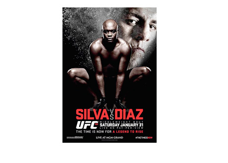 UFC 183 - Anderson Silva vs. Nick Diaz - Official Poster