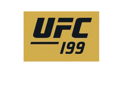 UFC 199 logo - The Ultimate Fighting Championship - Rockhold vs. Bisping - Year 2016