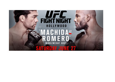 Machida vs. Romero - UFC Fight Night - Poster - June 27, 2015