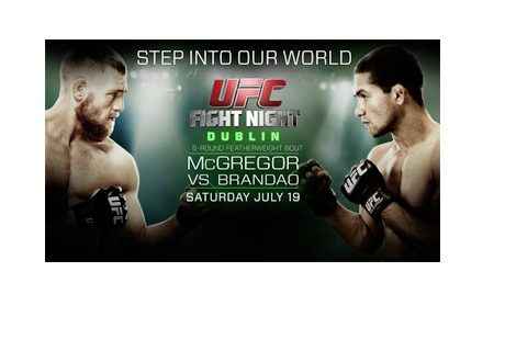 UFC Fight Night - Dublin - Poster - McGregor vs. Brandao