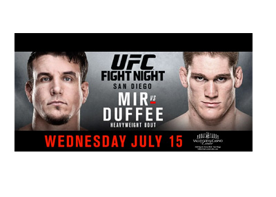 UFC Fight Night - Frank Mir vs. Todd Duffee - Event Poster - July 12, 2015