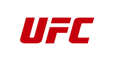 UFC logo - Red colour - 2016 version - White background