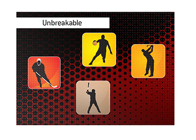 The unbreakable sports records.  Hockey, baseball, basketball and golf.