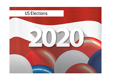 The United States elections 2020 - Odds to win - Illustration.