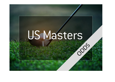 US Masters 2018 - Odds to win - Golf graphic.