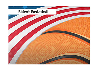 The performance of the US national basketball team at the Olympic Games.