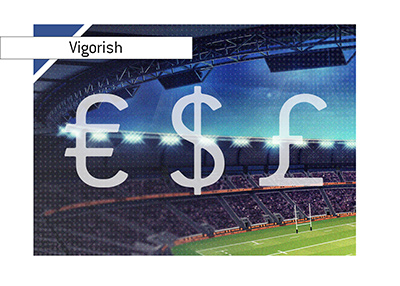 VIG - Vigorish - The way sportsbooks make money.