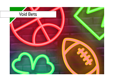 Sports Betting neon lights - Void Bets issue and the legal side of things.