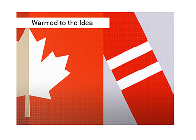Canada has warmed up to the idea of legalizing sports betting.