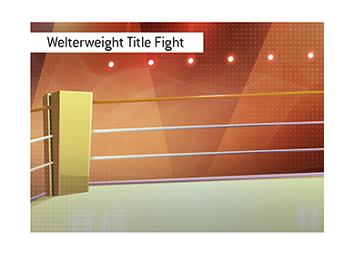 The WBC World Welterweight Title as well as the Int. Boxing Federation Title are both on the line on Friday night.