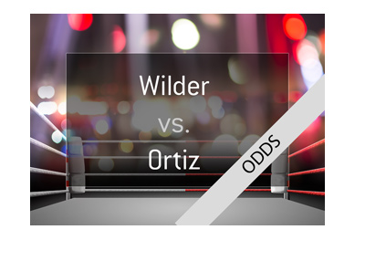 Deontay Wilder vs. Luis Ortiz - Boxing match odds and preview - Illustration.