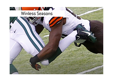 Winless seasons in the NFL are rare but they do happen.  Here are the teams involved.