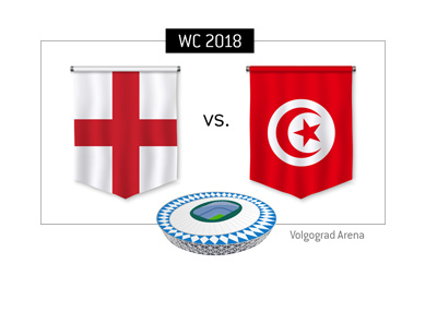 England play Tunisia in the opening round of games at the 2018 World Cup in Russia - Match preview and betting odds.