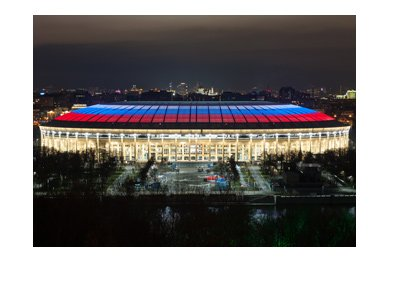 Luzhniki stadium in Moscow - The place where the World Cup Russia 2018 will be played.