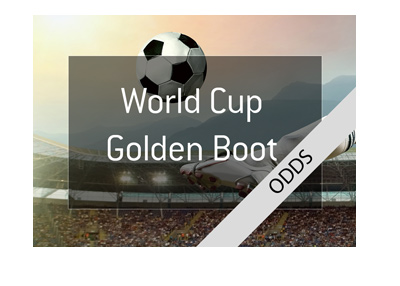World Cup Golden Boot Odds - Illustration.