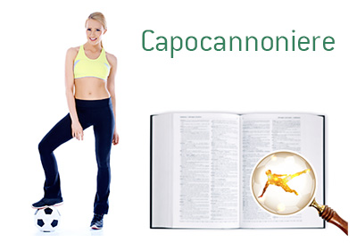 Definition of Capocannoniere - Football Game Dictionary