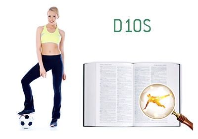 Definition and Meaning of D10S - Football Game Dictionary