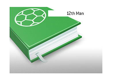 The meaning of the term 12th Man is explained.  What is it?