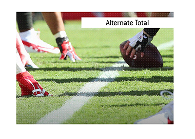 The meaning of the sports betting term Alternate Total is explained in this article.  How does it work?