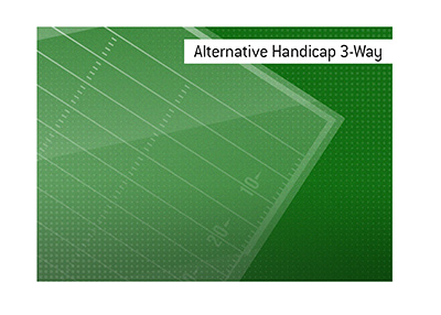 What is the Alt Handicap 3-way?  The King explains the works.  Definition and meaning.