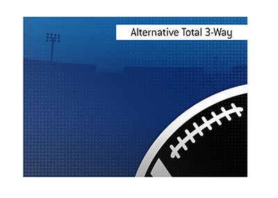 What is the meaning of the term Alternative Total 3-Way, when it comes to sports and betting?  The King explains.