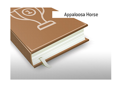 The ins and outs about the Appaloosa Horse breed are explained.  Dictionary entry.  What is the meaning of the term?