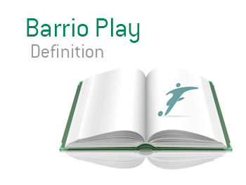 Definition and meaning of Barrio in football in relation to South American street style of play