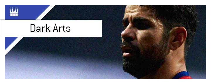 Diego Costa is the master of the Dark Arts in the game of football.