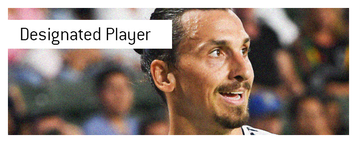Zlatan Ibrahimovic is a classic example of a player signed under the Designated Player Rule in the Major League Soccer.