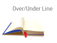 Definition of Over/Under Line - Sports Betting Dictionary