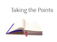 Definition of the term Taking the Points - Sports Betting Dictionary - King