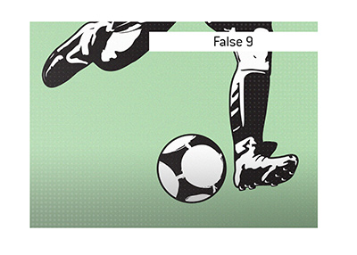 The meaning of the False 9 position in soccer is explained.  What is it?