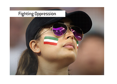 The women of Iran have been fighting for their right to attend football matches.