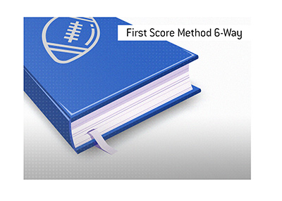What is the meaning of the term First Score Method 6-Way when it comes to betting on American Football?  The King explains.  Dictionary entry.
