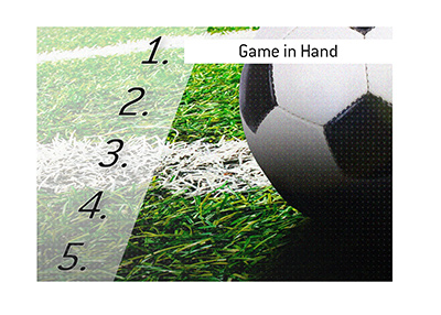 The meaning of the sports term Game in Hand is explained.  What is it exactly?