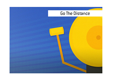 Going the distance - Boxing and Mixed Martial Arts - Illustration.
