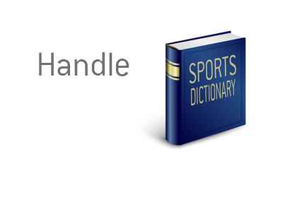 The dictionary entry for Handle - Sports King Terms