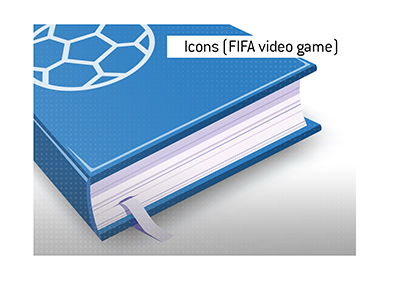 What is the meaning of the term Icons, when it comes to the popular football video game?