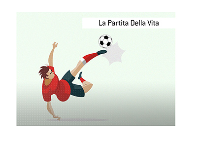 The King explains the meaning of the Italian term La Partita Della Vita.  What is it and what could it be for a professional as well as the amateur player?