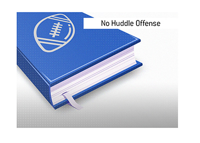 The explanation of No Huddle Offense is offered by the King of sports.