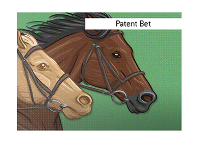 The King explains the meaning of the term Patent Bet.  What type of a wager is this when it comes to horse racing?