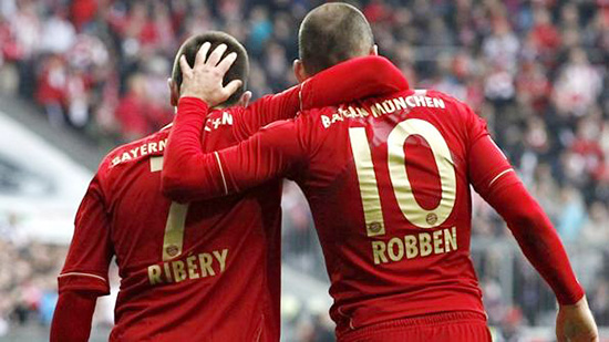 Franck Ribbery and Arjen Robben - The Robbery - Bayern Munich