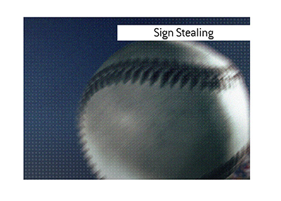 Sign stealing is in the spotlight again in the sport of baseball.