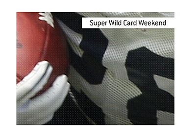 The meaning of the football term Super Wild Card Weekend is explained.