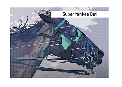 The workins of the Super Yankee Bet are explained.  What type of a sports bet is it?