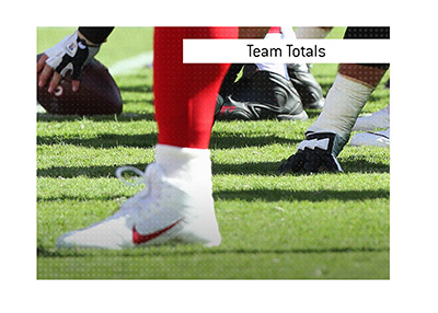 What is Team Totals when it comes to betting on sports?  The King explains the meaning and provides an example as it relates to American football.