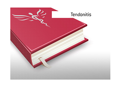 A common football injury - Tendonitis - is explained in this dictionary entry.  What is it exactly and who are the players that suffered from it?